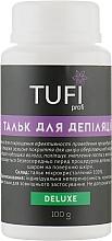 Духи, Парфюмерия, косметика Тальк для депиляции - Tufi Profi Deluxe