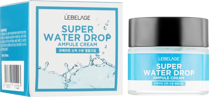 Ампульный крем суперувлажняющий - Lebelage Ampule Cream Super Water Drop