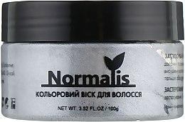 Духи, Парфюмерия, косметика Цветной воск для волос, серебристый - Normalis