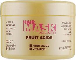 Духи, Парфюмерия, косметика Маска для тонких и ломких волос - Imperity Milano Fruit Acids Hair Mask