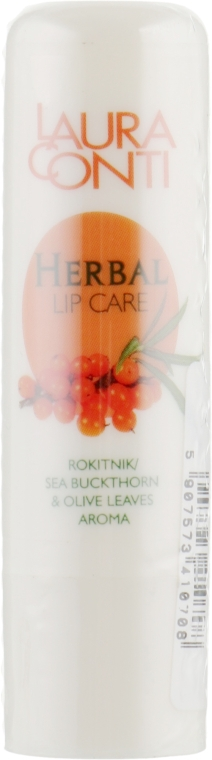"Бальзам для губ ""Облепиха"" - Laura Conti Herbal Lip Balm"