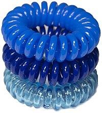 Духи, Парфюмерия, косметика Резинки для волос, 3,5 см - Ronney Professional S25 MAT/MAT/MET Funny Ring Bubble
