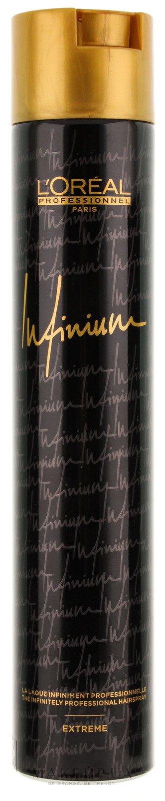Лак для волос экстремальной фиксации - L'Oreal Professionnel Infinium Extreme Hairspray — фото 500ml