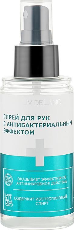 Спрей для рук с антибактериальным эффектом - Liv Delano