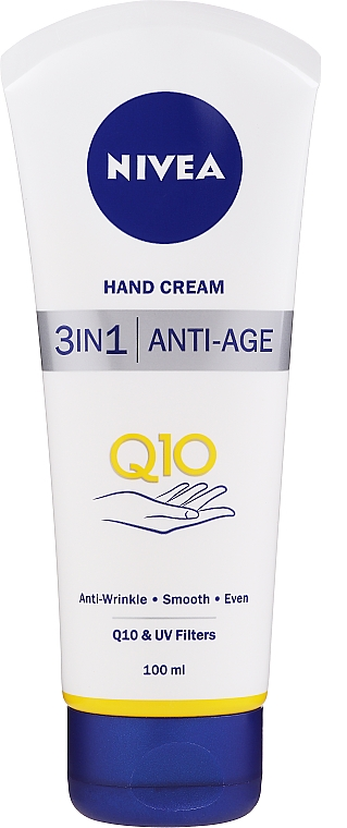 "Крем для рук антивозрастной ""Q10 Plus"" - Nivea Q10 plus Age Defying Antiwrinkle Hand Cream"