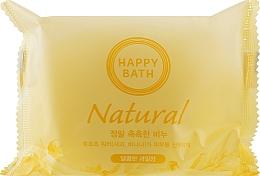 Духи, Парфюмерия, косметика Мыло с яблоком и бананом - Happy Bath Natural Moisture Fruit Water Soap