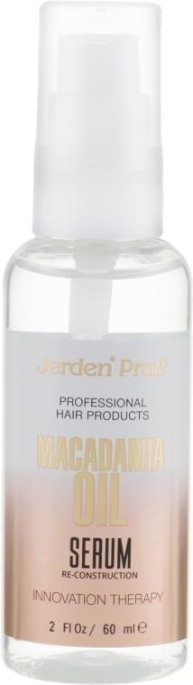 Сыворотка для волос с маслом Макадамии - Jerden Proff Macadamia Oil Serum