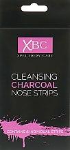 Духи, Парфюмерия, косметика Очищающие полоски для носа с углем - Xpel Marketing Ltd Body Care Cleansing Charcoal Nose Strips