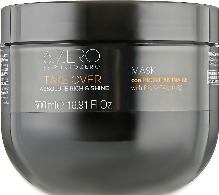 Маска для сухих и тусклых волос - Seipuntozero Take Over Absolute Rich & Shine