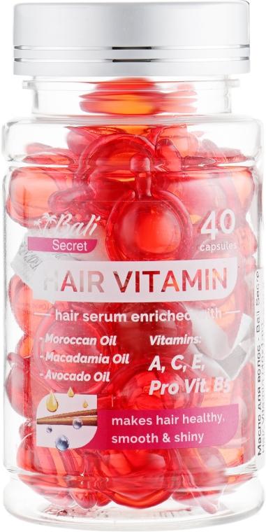 Масло для волос - Bali Secret Hair Vitamin