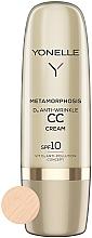 Духи, Парфюмерия, косметика СС крем против морщин - Yonelle Metamorphosis D3 Anti Wrinkle CC Cream SPF10