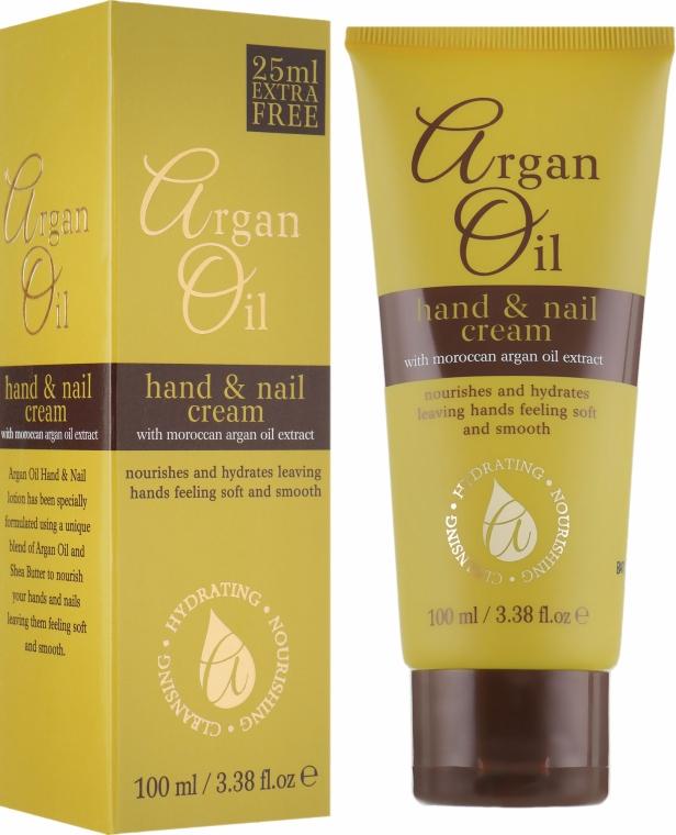 Крем для рук и ногтей с маслом аргана - Xpel Marketing Ltd Argan Oil Hand & Nail Cream
