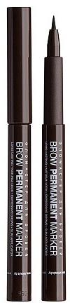 Подводка-фломастер для бровей - Relouis Brow Permanent Marker