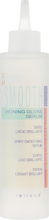 Сыворотка для разглаживания и блеска волос - Rolland Una Smooth Ironing Gloss Serum