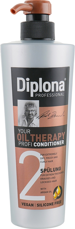 Кондиционер для сухих и ломких волос с аргановым масло - Diplona Professional Conditioner Oil Therapy