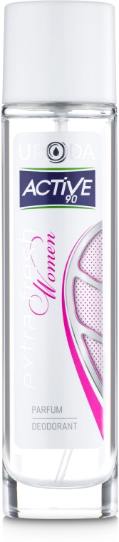 Uroda Active 90 - Парфюмированный дезодорант-спрей