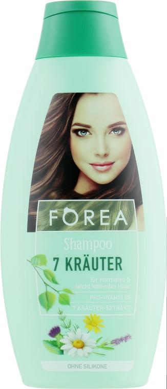 """Шампунь для волос """"7 трав"""" - Forea"""