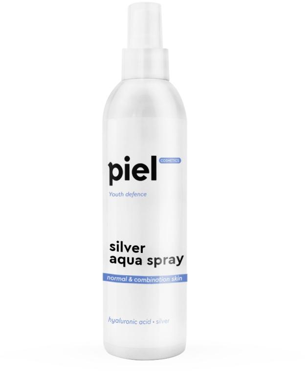 Увлажняющий спрей для нормальной и комбинированной кожи - Piel Cosmetics Silver Aqua Spray