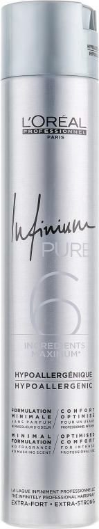 Лак для волос - L'Oreal Professionnel Infinium Pure Strong