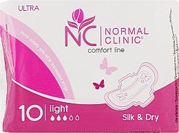 "Духи, Парфюмерия, косметика Прокладки ""Ultra silk dry"", 10шт - Normal Clinic"