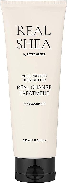 Увлажняющий лосьон для волос с маслом ши - Rated Green Real Shea Cold Pressed Shea Butter Real Change Treatment