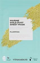 """Духи, Парфюмерия, косметика Маска для лица с частичками золота """"Морской пейзаж"""" - Vitamasques Marine Gold Mask"""