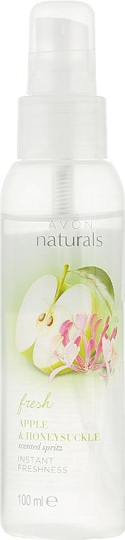 Лосьон-спрей для тела с ароматом свежего яблока и жимолости - Avon Naturals