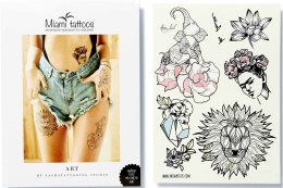 Духи, Парфюмерия, косметика Флеш-тату переводные - Miami Tattoos Art By Nora Ink