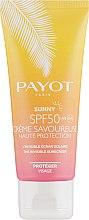 Духи, Парфюмерия, косметика Солнцезащитный крем для лица - Payot Sunny SPF 50