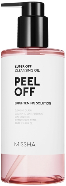 Гидрофильное масло с эффектом пилинга - Missha Super Off Cleansing Oil Peel Off