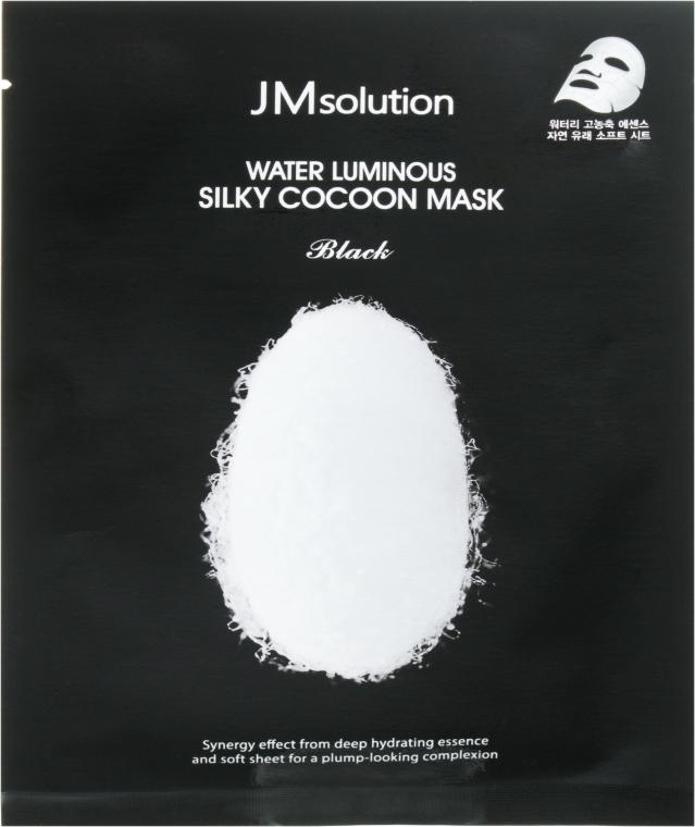 Маска тканевая - JMsolution Water Luminous Silky Cocoon Mask Black