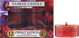 Духи, Парфюмерия, косметика Чайные свечи - Yankee Candle Scented Tea Light Vibrant Saffron