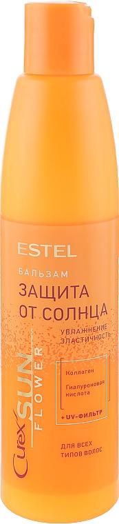 """Бальзам """"Увлажнение и питание"""" для волос с UV-фильтром - Estel Professional Curex Sunflower"""