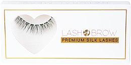 Духи, Парфюмерия, косметика Накладные ресницы - Lash Brow Premium Silk Lashes Natural Mess