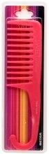 Духи, Парфюмерия, косметика Гребень для кучерявых волос с ручкой в блистере, красный - Beter Viva Sweet Hair Comb