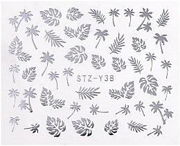 Парфумерія, косметика Наклейки для нігтів, срібло, STZ - Vizavi Professional
