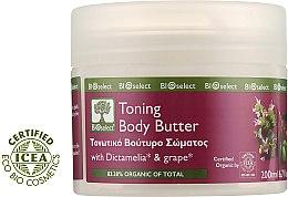 Тонизирующий крем для тела с виноградом и маслом жожоба - BIOselect Toning Body Butter — фото N1