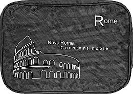 "Косметичка дорожняя ""Rome"", черная - Rapira — фото N1"
