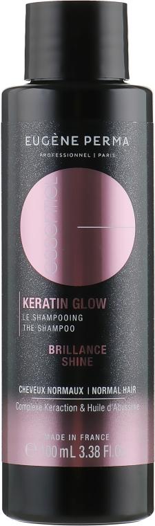"""Шампунь с кератинном """"Бриллиантовое сияние"""" - Eugene Perma Essentiel Keratin Glow Reparation Brilliance Shampoo"""