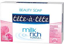 "Духи, Парфюмерия, косметика Твердое мыло ""Sweet & Sensual"" - Tete-a-Tete Milk Rich Formula"