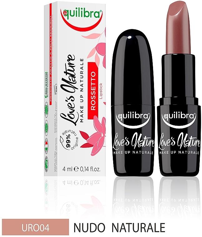 Помада для губ - Equilibra Love's Nature Lipstick