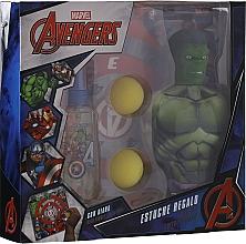 Духи, Парфюмерия, косметика Marvel The Avengers - набор (edt/90ml + sh/gel/350ml + toys)
