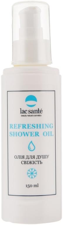 """Натуральное масло для душа с витамином Е """"Свежесть"""" - Lac Sante Refreshing Shower Oil"""
