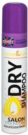 Сухой шампунь для светлых волос - Ronney Dry Shampoo Blonde & Light