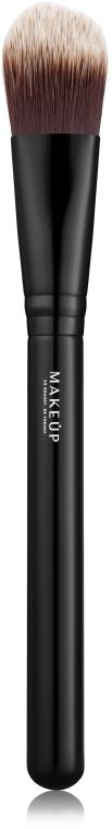 Плоская кисть для тональной основы + №6 - MakeUp Foundation brush