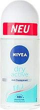Духи, Парфюмерия, косметика Антиперспирант шариковый - Nivea Dry Active Deodorant