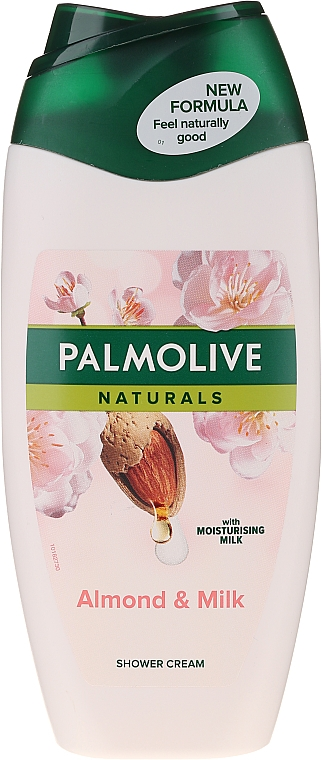 """Гель-крем для душа """"Миндальное молочко"""" - Palmolive Naturals"""