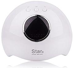 Духи, Парфюмерия, косметика Лампа LED+UV, белая - Star LED+UV Lamp Star 6 24W White