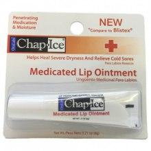Духи, Парфюмерия, косметика Лечебный бальзам для губ - OraLabs Chap Ice Medicated Lip Ointment