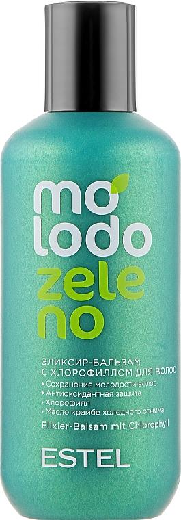 Бальзам-эликсир для волос с хлорофиллом - Estel Professional Molodo Zeleno
